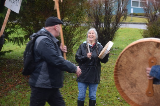 Haida Woman, Sustainable forestry, Haida Gwaii, forestry, BCTS, British Columbia Timber Sales