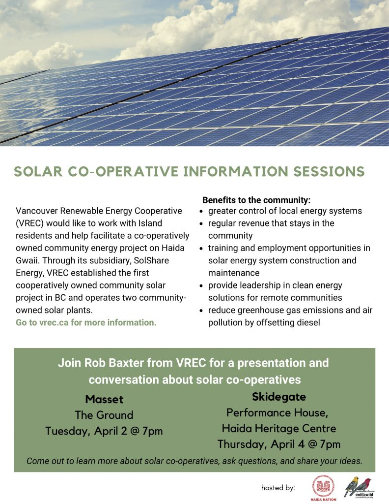 Solar Co-operative Information Sessions – Council of the